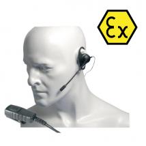 Auricular con varilla micrófono Atex para Entel HT