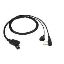 Kit Micro-auricular Kenwood 2 pins EMC-11W