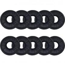 Lote 10 Almohadillas 40 mm compatibles simíl cuero