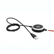 Cable UC con control para Jabra Evolve 80
