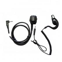 Micro-auricular ergonómico Motorola 1 pin + Auricular gancho