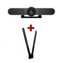 Logitech MeetUp Webcam + Montaje de TV