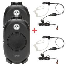 Pack de 2 Walkies CLP 446 + 2 auriculares de vigilancia
