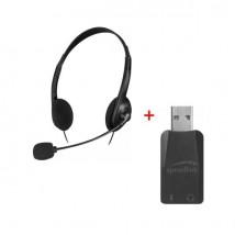 PACK: Speedlink Accordo: doble Jack / USB