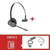 Pack Plantronics CS540 para teléfonos Cisco - Segunda Versión