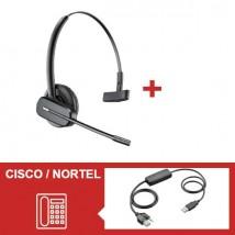 Pack Plantronics CS540 para teléfonos Cisco / Nortel