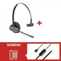 Pack Plantronics CS540 para teléfonos Siemens