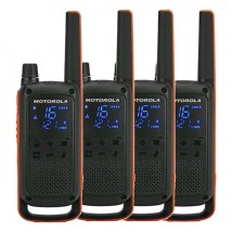 Pack cuarteto Motorola Talkabout T82