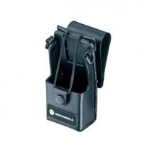 Funda de cuero para Motorola serie DP1400