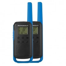 Par de walkie talkies Motorola TLKR T62