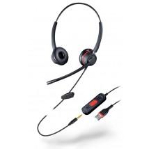 Auriculares Doble Conexión USB/Jack Similr Cuir