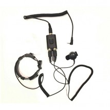 Micro-auricular laringófono versión VERTEX