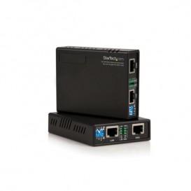 Juego Kit Extensor de Ethernet 10/100 VDSL2 a través de Cable de Par Único - 1km