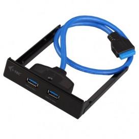 I-Tec iTEC U3EXTEND - Hub Interno (2 x USB 3.0), Negro