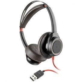 Plantronics Blackwire 7225 USB-A - Negro
