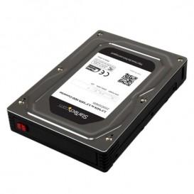 """Box esterno adattatore per dischi rigidi SATA da 2,5"""" a 3,5"""" in alluminio con altezza massima SSD / HDD di 12,5 mm"""