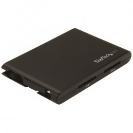 Lector/Escritor de Tarjetas de Memoria SD con 2 Ranuras - USB 3.0 con Puerto USB-C - SD 4.0, UHS II