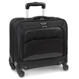 Targus Mobile VIP 15.6'' Roller maletines para portátil 39,6 cm (15.6'') Trolley case Negro