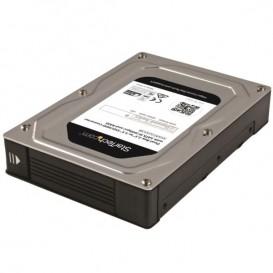 Caja Adaptadora SATA con RAID de 2 Bahías de 2,5 a 3,5 Pulgadas