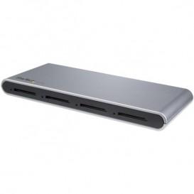 Lector Grabador USB-C de Tarjetas de Memoria Flash SD con 4 Ranuras - USB Tipo C - USB 3.1 - SD 4.0 - UHS-II