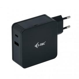 i-tec CHARGER-C60WPLUS cargador de dispositivo móvil Interior Negro