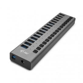 i-tec USB 3.0 Charging HUB 16port + Power Adapter 90 W