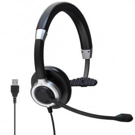 Auriculares USB Mono con cancelación de ruido