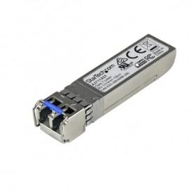 Transceptor de Fibra Canal SFP+ de 8 gigabits - Compatible HP AJ717A - Mini GBIC Multimodo LC 300m de Onda Larga DDM