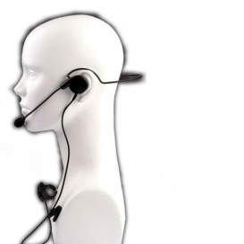 Micrófono auricular HS-2 conexión Motorola 1 pin