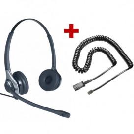 Auricular OD HC 45 + Cable QD U10-P - RJ9