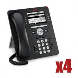 Pack 4 Avaya 9608G IP Phone