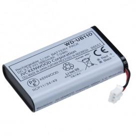 Batería de Li-ion para base portátil Kenwood WD-K10PBS