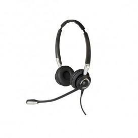 Jabra BIZ 2400 II Duo y micrófono ultra cancelación de ruido