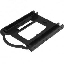 """Bracket de Montaje de DD/SSD de 2,5 para Bahía de 3,5"""" - Instalación sin Herramientas"""