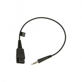 Cable Jabra QD 3.5 mm Jack para Blackberry y iPhone