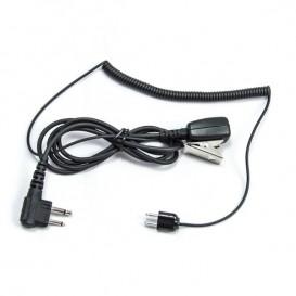 Cable Peltor TAMT06/M-HRT para walkies Motorola