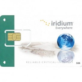 Tarjeta SIM prepago con activación Iridium