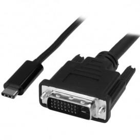 Cable Adaptador Conversor USB-C a DVI - 2m - 1920x1200