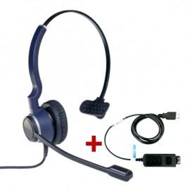 Cleyver HC20 QD + Cable adaptador USB DSU011M QD