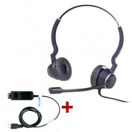 Cleyver HC25 QD + Cable adaptador USB DSU011M QD