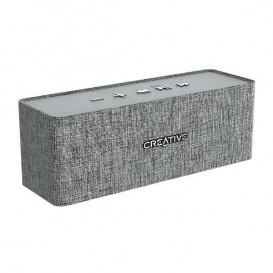 Creative NUNO Gris - Altavoz Bluetooth Portátil