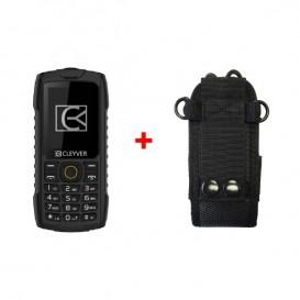 Teléfono resistente Cleyver XDIVE + Funda universal