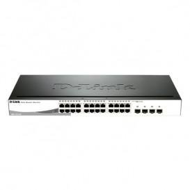 24 puertos Gigabit Ethernet 10/100/1000 Mbps