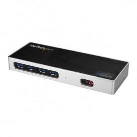 Docking Station USB Tipo C para Portátiles de 2 Puertos DisplayPort o HDMI - Replicador de Puertos USBC DisplayLink 4K