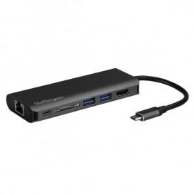 Adattatore Multiporta USB-C - Lettore Schede SD - Power Delivery - 4K HDMI - GbE - 2x USB 3.0