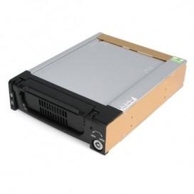 """Rack Móvil Aluminio Reforzado Disco Duro HDD SATA 3,5"""" Pulgadas con Bandeja Bahía 5,25"""""""
