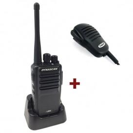 Dynascan L88 + Micrófono de solapa PTT