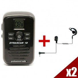 Par de Walkie Talkies Dynascan 1D