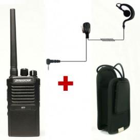 DYNASCAN R-77 + Funda + Micro-auricular de gancho