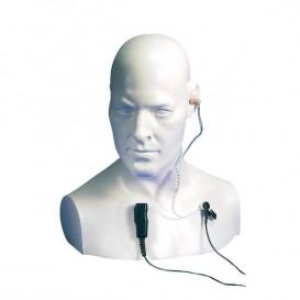 Micro-auricular tipo tubo acústico para Entel Serie DX